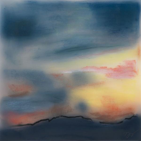 "Pontoosuc Sunset August 16, 2    Limited Edition (25) Fine Art Print   10""x10"""